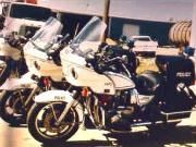 1939 to 1989 Police Department Motorcycles