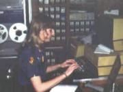 Dispatcher C. Miller in Radio Room