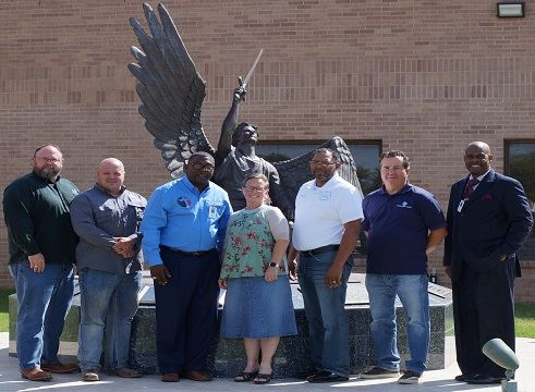 Odessa Police Department employees and Chaplains Program volunteers